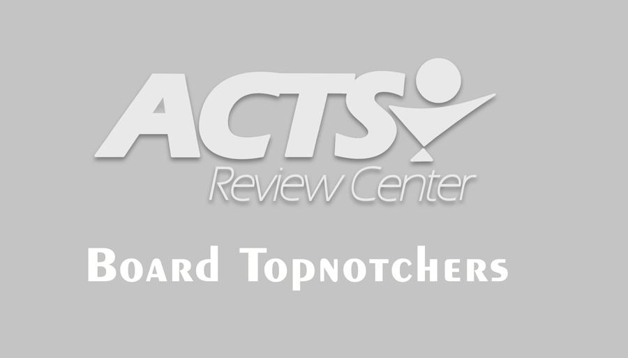 February 2017 – Three Board Topnotchers